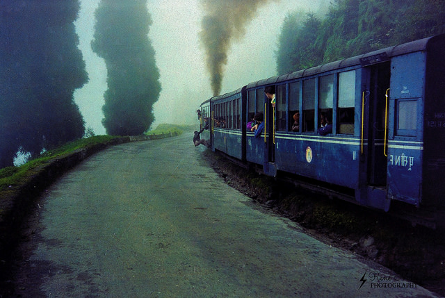 trip to darjeeling - toy train